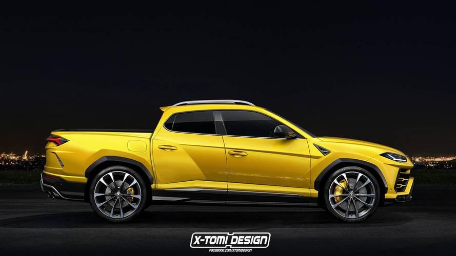Lamborghini Urus'a pick up versiyonu!