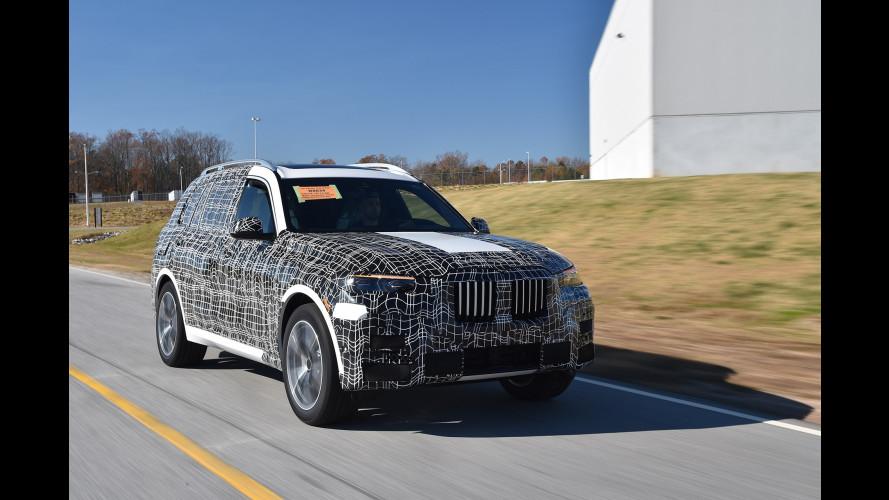 BMW X7, prototipo de pruebas en Estados Unidos