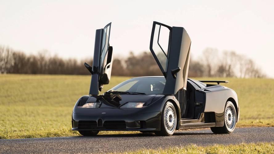 Este exclusivo Bugatti EB110 GT de 1995 puede ser tuyo