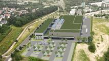 Visualization of future BMW Group Battery Competence Center