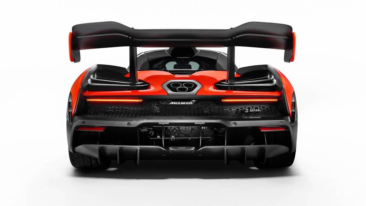 2018 McLaren Senna - Rear Diffuser