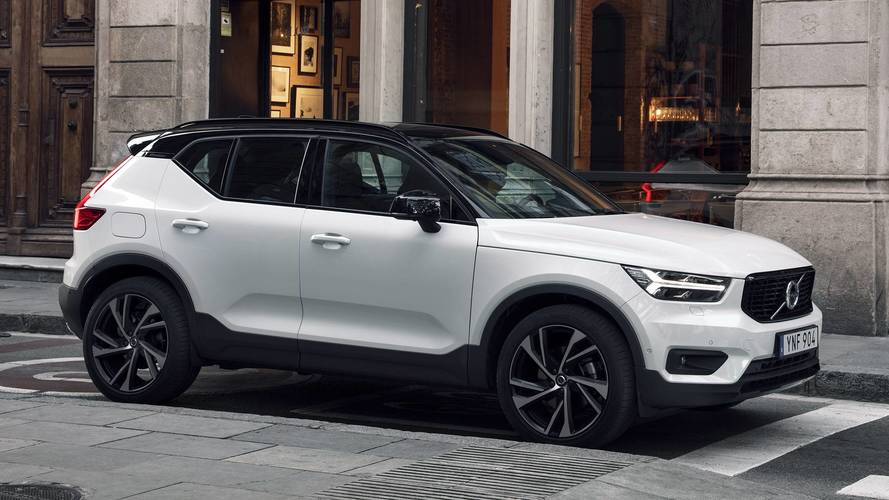 2019 volvo xc40 first drive photo. Black Bedroom Furniture Sets. Home Design Ideas