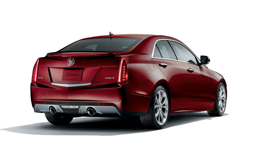 Cadillac ATS Crimson Sport Edition officially unveiled