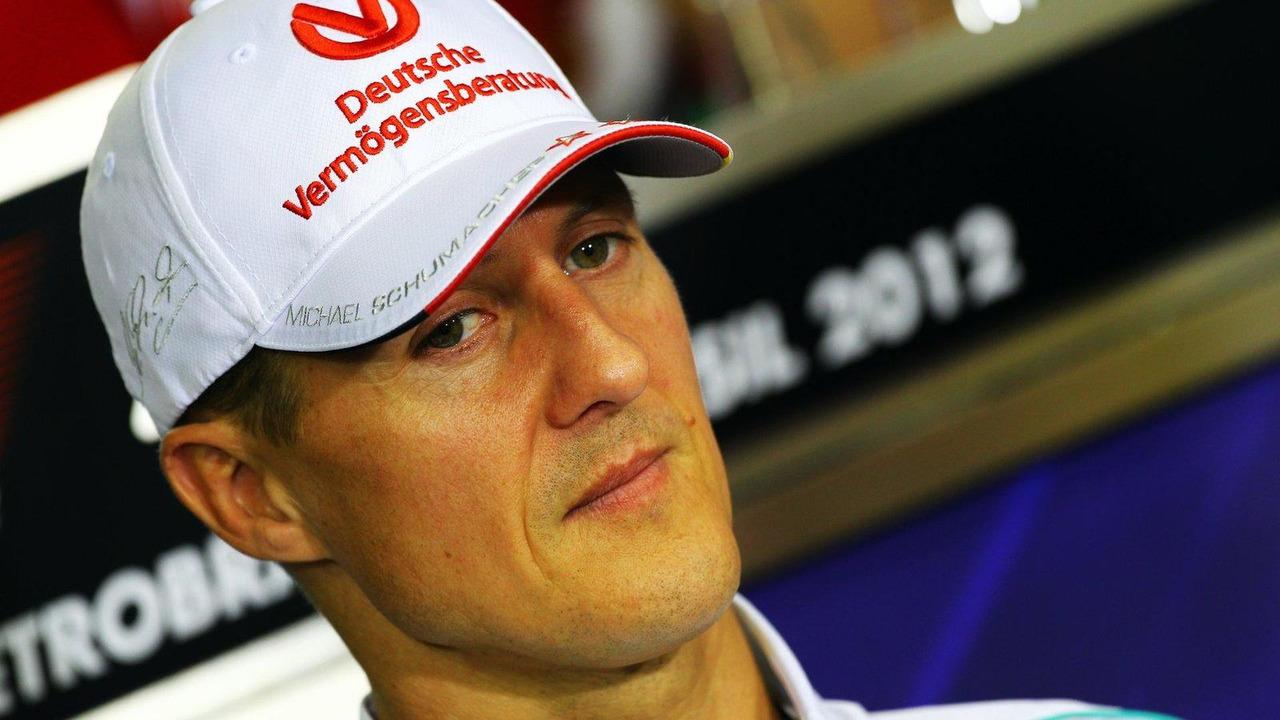 Michael Schumacher 22.11.2012 Brazilian Grand Prix