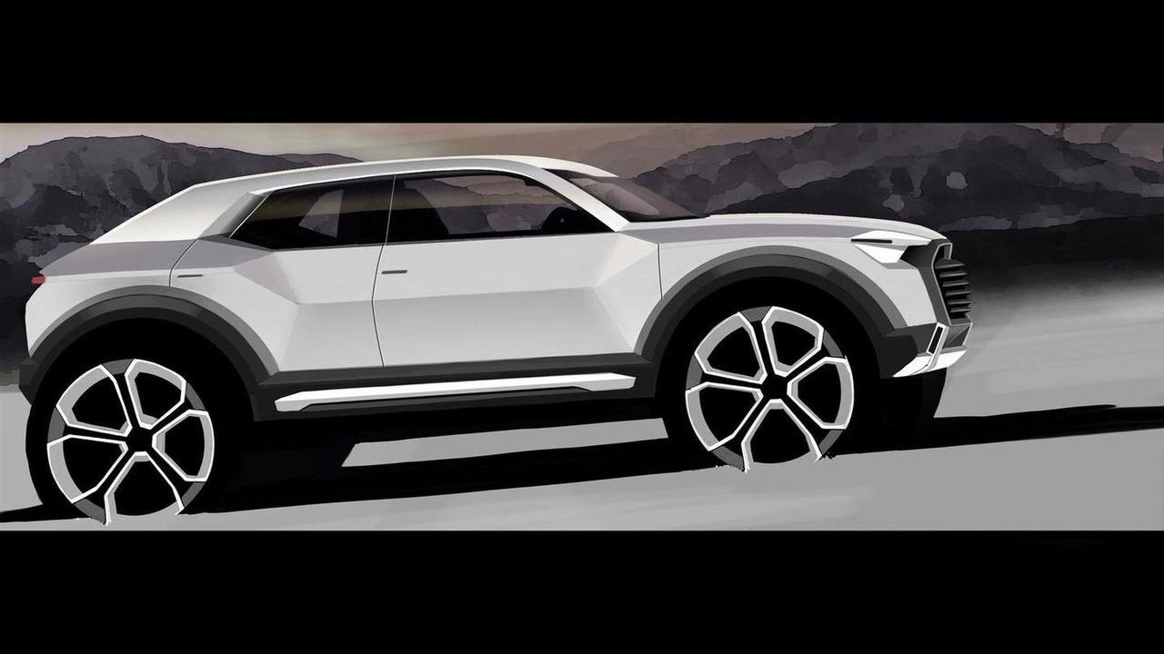 2016 Audi Q1 teaser image 02.12.2013