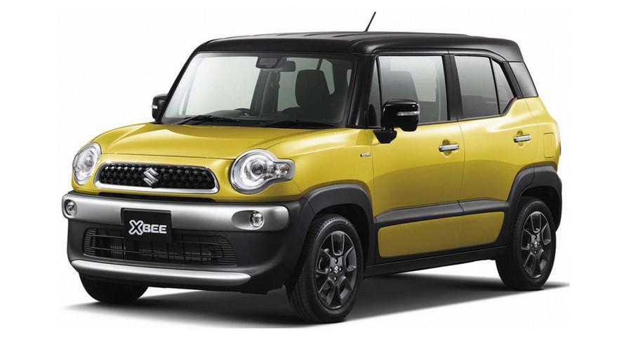 Suzuki Xbee konsepti Tokyo'nun en sevimlisi