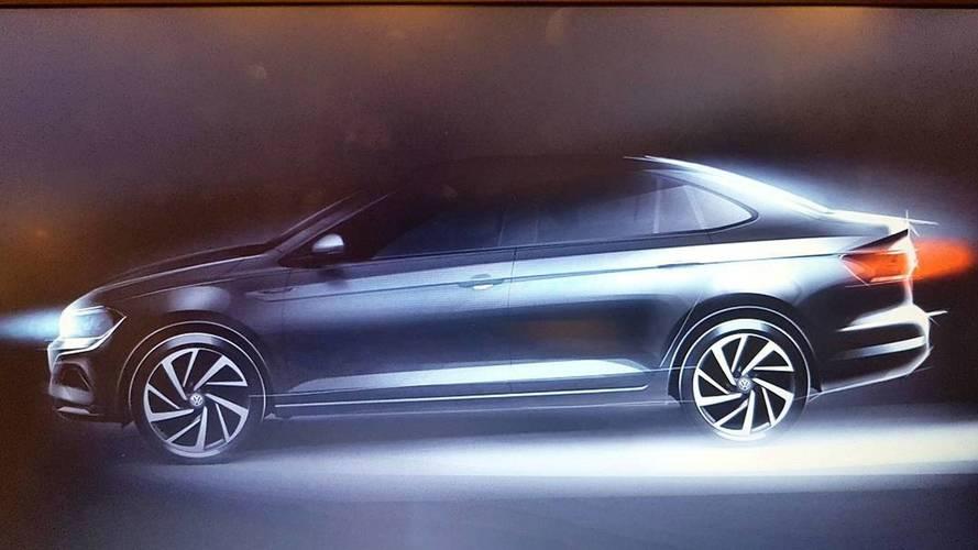 Novo Volkswagen Virtus (Polo Sedan) será lançado em janeiro