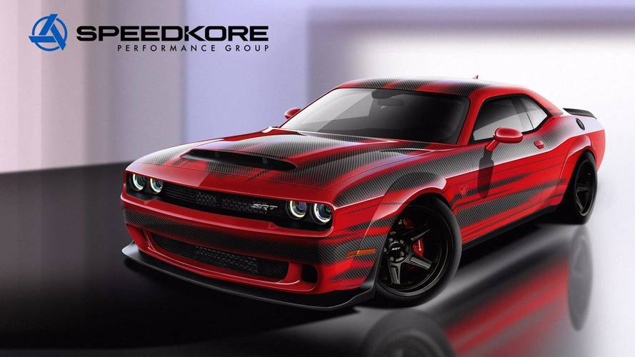 SpeedKore Dodge Demon - Encore plus radicale pour le SEMA Show 2017