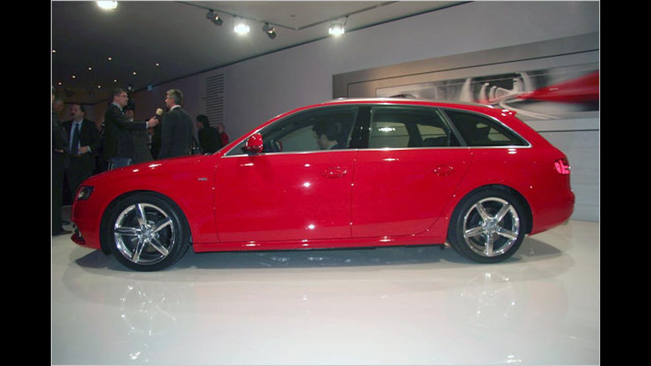 Audi A4 Avant: Die Kombiversion des sportlicher gewordenen Mittelklässlers