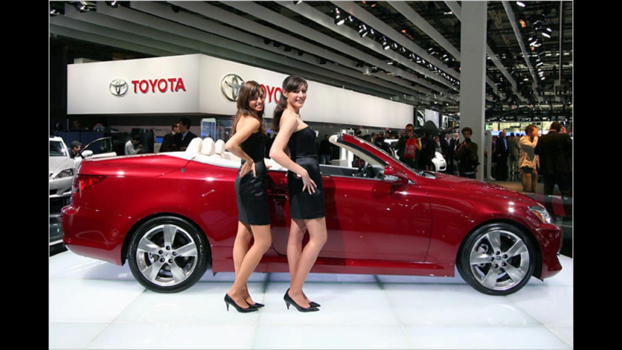 Lexus als Ballettstange: Proben für den
