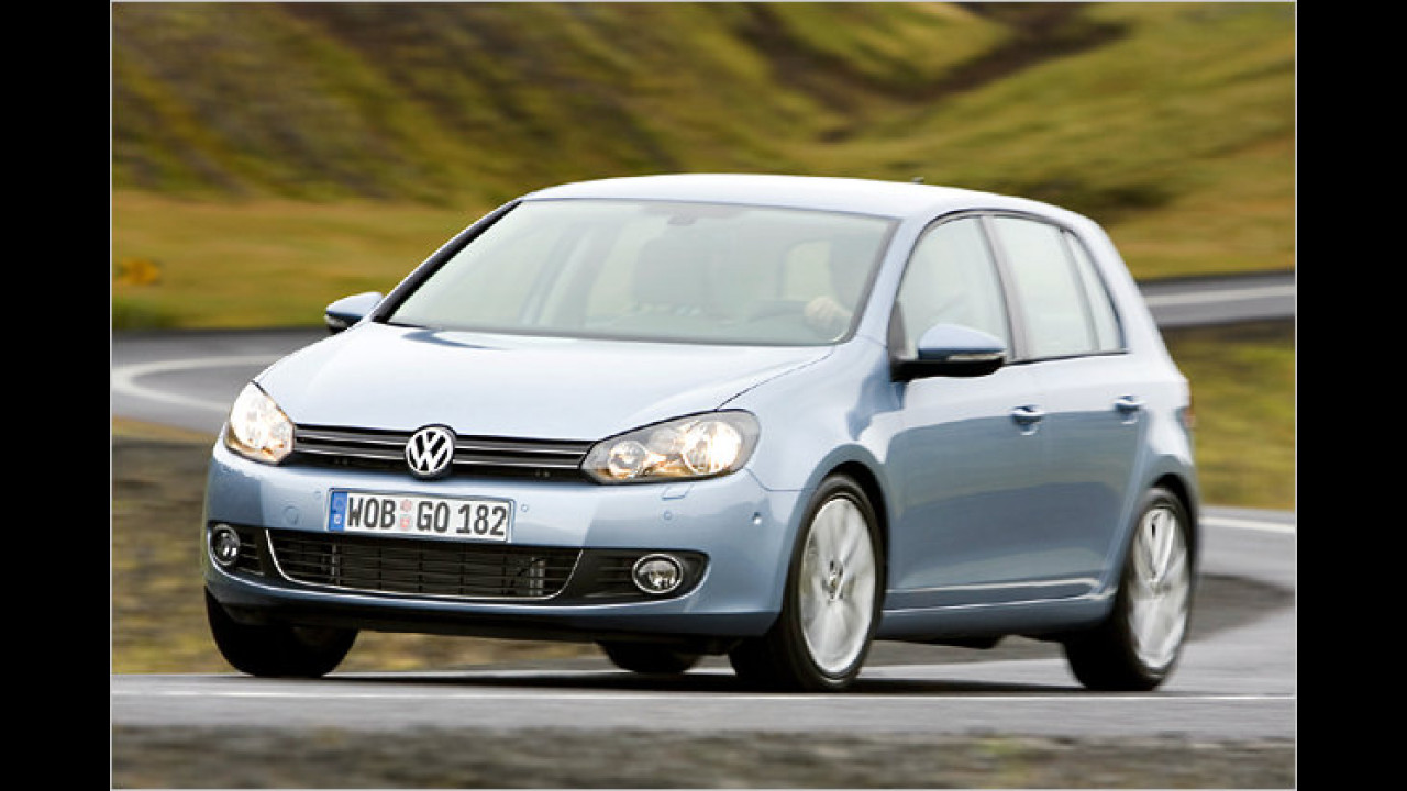 VW Golf 2.0 TDI Comfortline 4Motion
