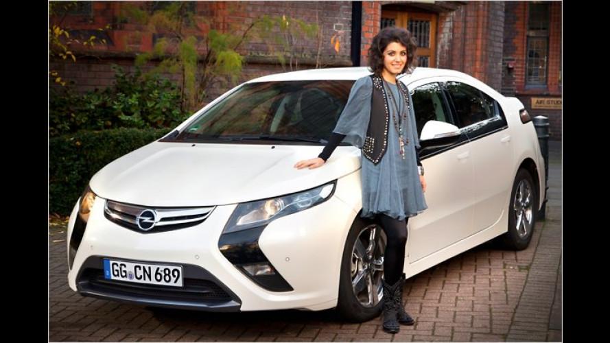 Opel präsentiert Europa-Tournee von Katie Melua
