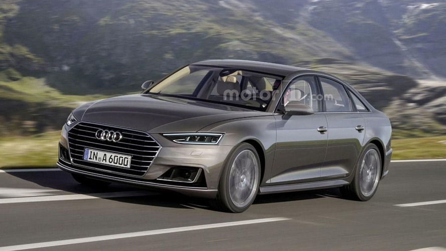 2017 Audi A6 rendered with Prologue concept traits