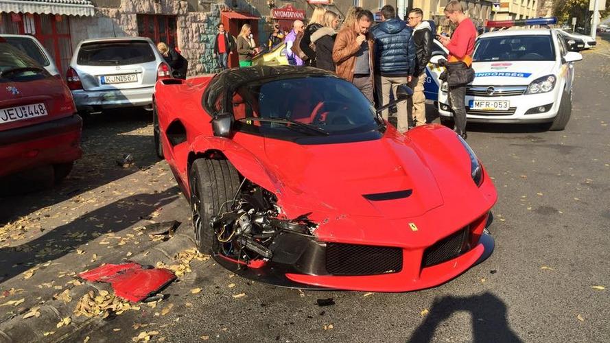 Would you spend $4.4K on broken LaFerrari bumper?