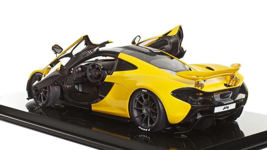 McLaren P1 scale models are the perfect Christmas gift