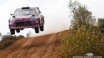 Hyundai i20 WRC gravel testing