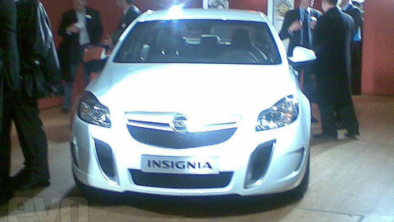 Opel Vauxhall Insignia OPC VXR leaked photo
