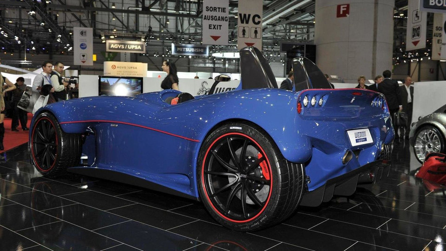 Wiesmann Spyder concept arrives in Geneva