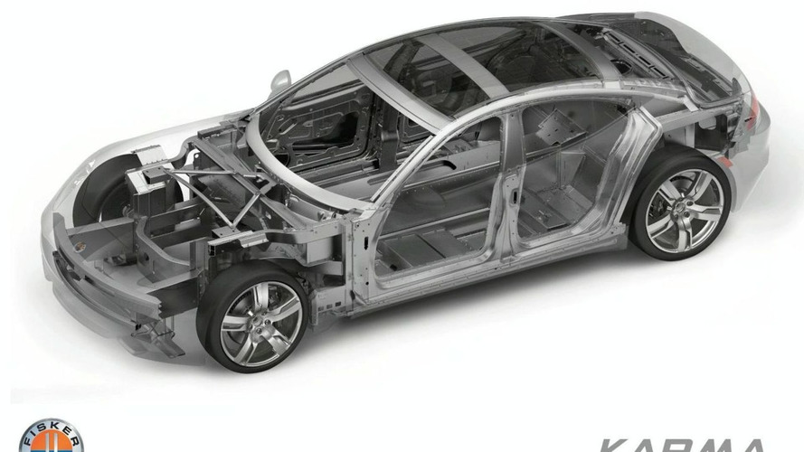 Fisker Karma Aluminum Space Frame Photo Released