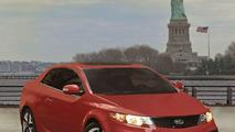 2010 Kia Forte Koup World Premiere in New York - Production Ready