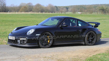 2012 Porsche 911 GT2 Facelift spy photo 20.04.2010