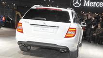 2012 Mercedes C-class live in detroit - 2011 NAIAS