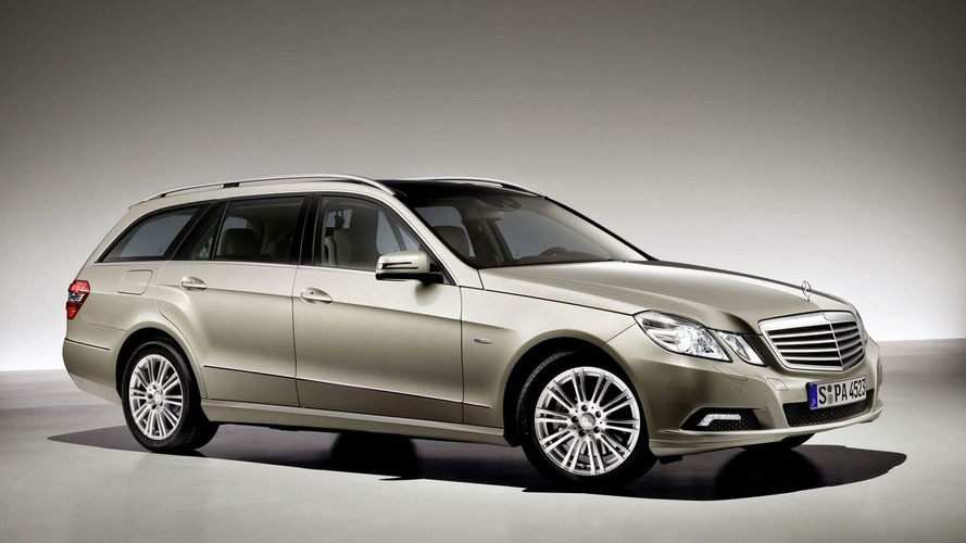 New Mercedes E-Class Estate Debuts in Frankfurt