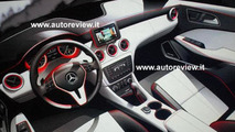 Mercedes A-Class interior design sketch, 600, 31.01.2011