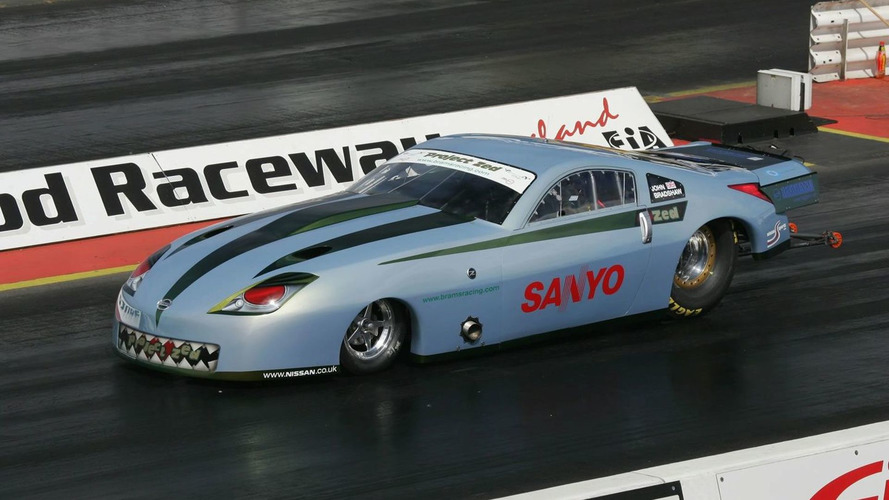 Nissan 350 Based Dragster with 1900bhp hits 60mph in just 1.2 Seconds