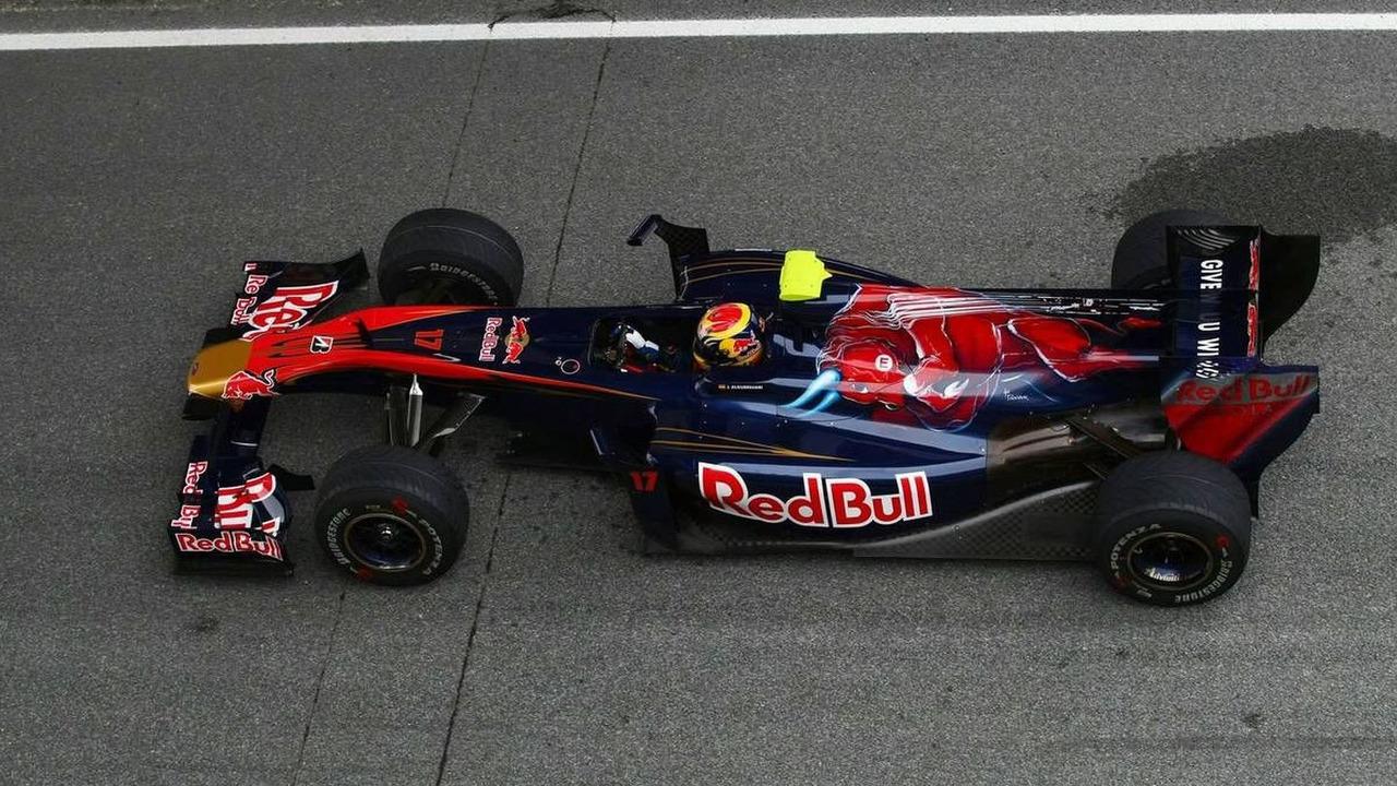 Jaime Alguersuari (ESP), Scuderia Toro Rosso, 12.02.2010, Jerez, Spain