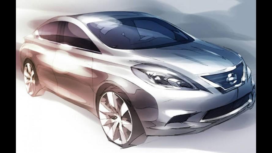 Novo Nissan Tiida Sedan 2012
