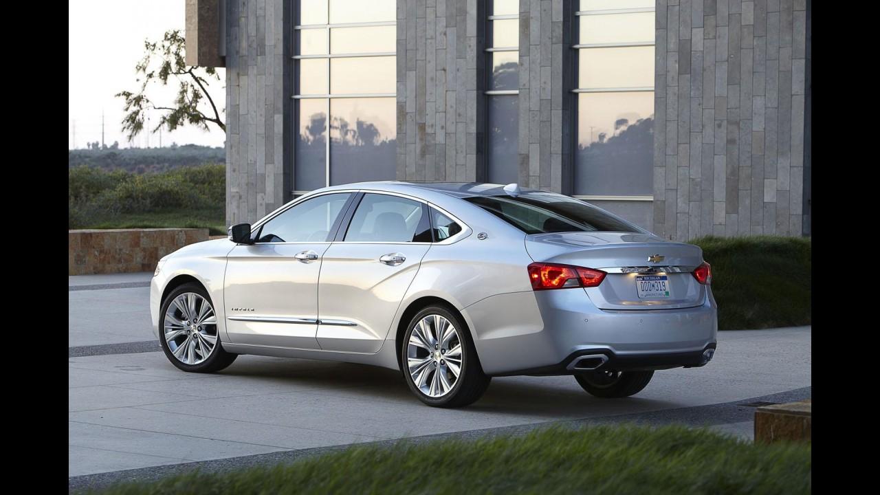 Chevrolet inicia produção do novo Impala no Canadá