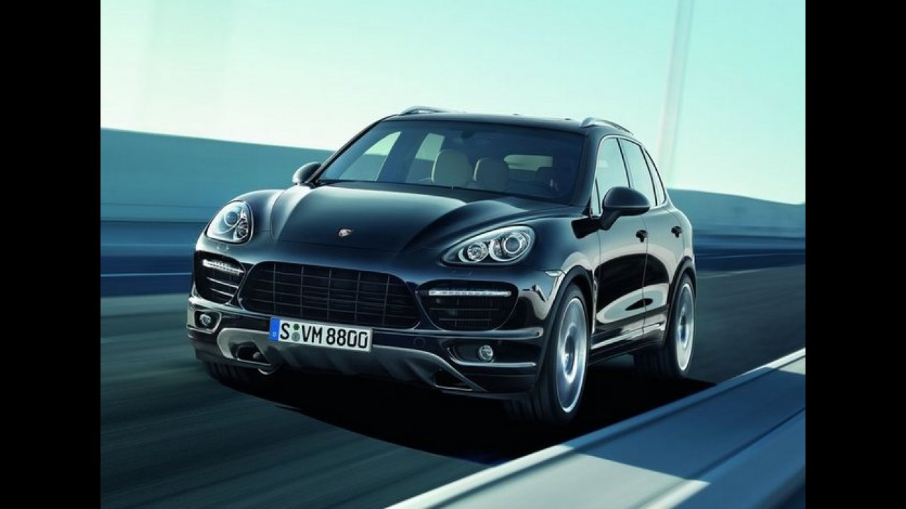 Porsche comemora 100.000 unidades produzidas do Cayenne