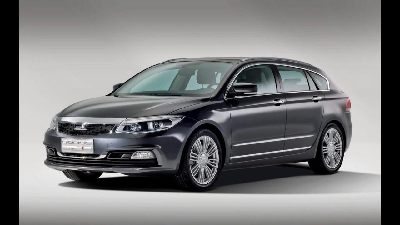 Qoros mostra detalhes dos modelos Qoros 3 Sedan, Cross Hybrid Concept e Estate Concept