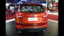 Salão SP: agora brasileira, Chery apresenta o SUV Tiggo 5 e os novos Celer e QQ