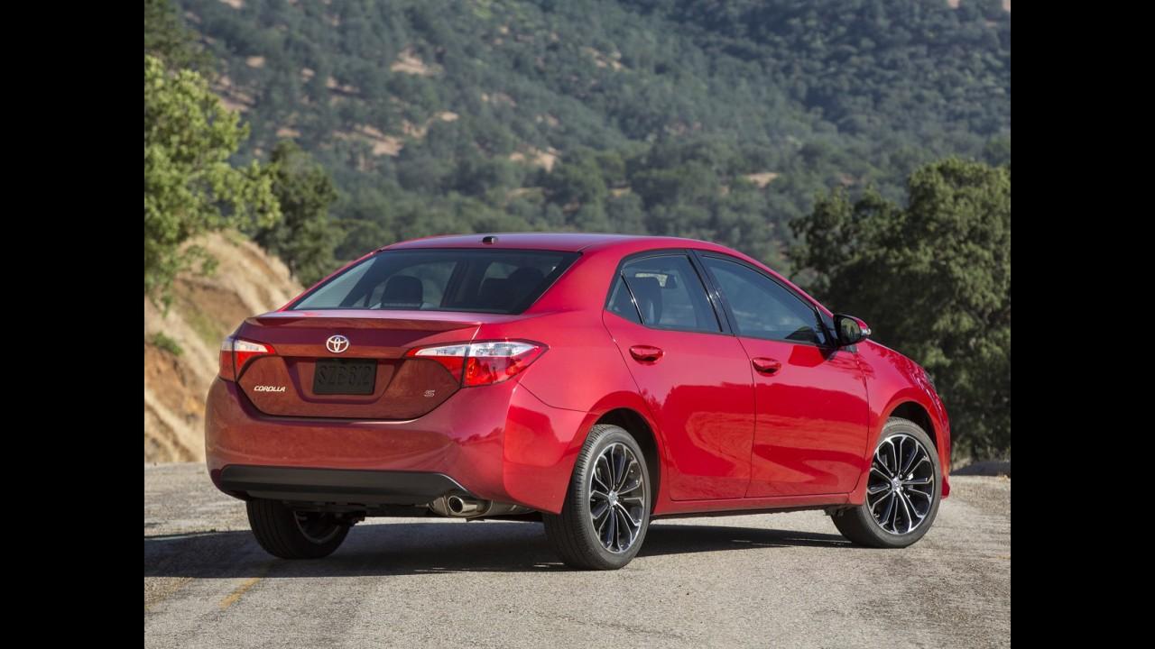 Toyota inicia produção do novo Corolla nos Estados Unidos