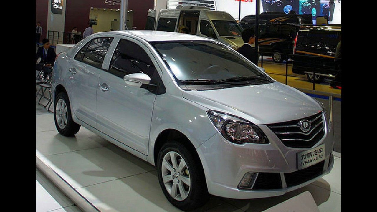 Lifan 530 já aparece na concessionária antes do lançamento