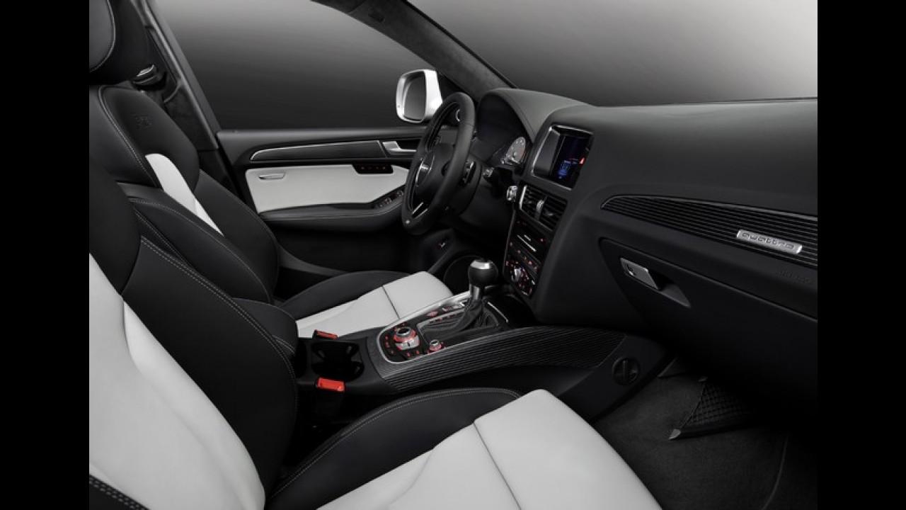 """Audi SQ5 será apresentado em Detroit - Versão """"forte"""" de 354 cv chega ao Brasil este ano"""