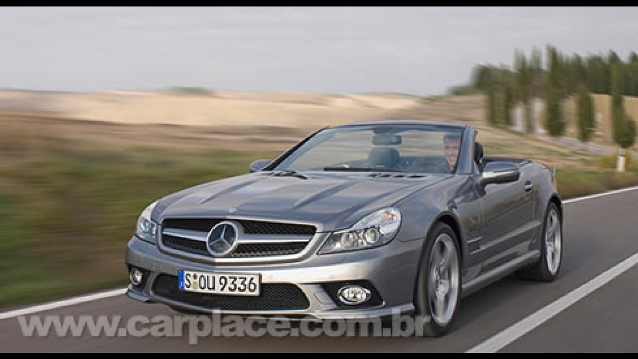 Mercedes-Benz revela oficialmente detalhes e imagens da nova SL 2009