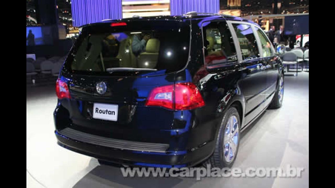 Salão de Chicago 2008: Volkswagen apresenta oficialmente a nova Routan