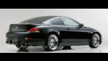BMW Série 6 com bodykit preparado por Wald International