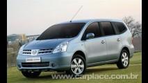 Nissan anuncia a produção no Brasil do monovolume Livina e Grand Livina