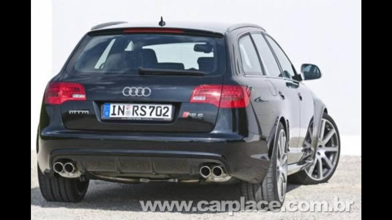 Prepradora alemã MTM deixa o Audi RS6 com apenas 702 cavalos de potência!!!