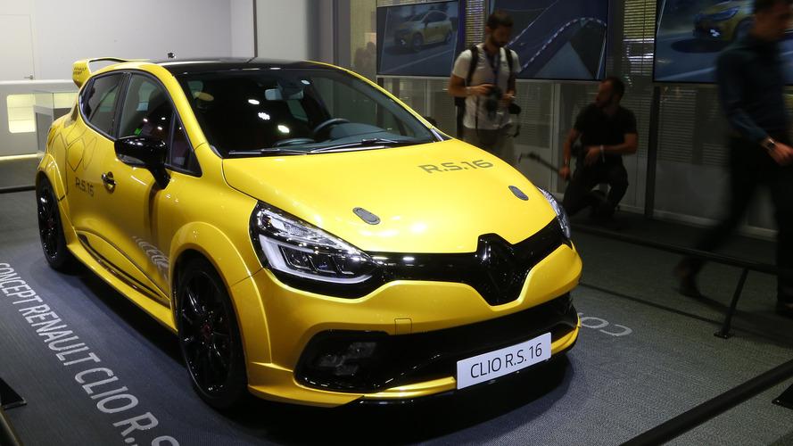 Clio RS16 - Renault fait marche arrière !