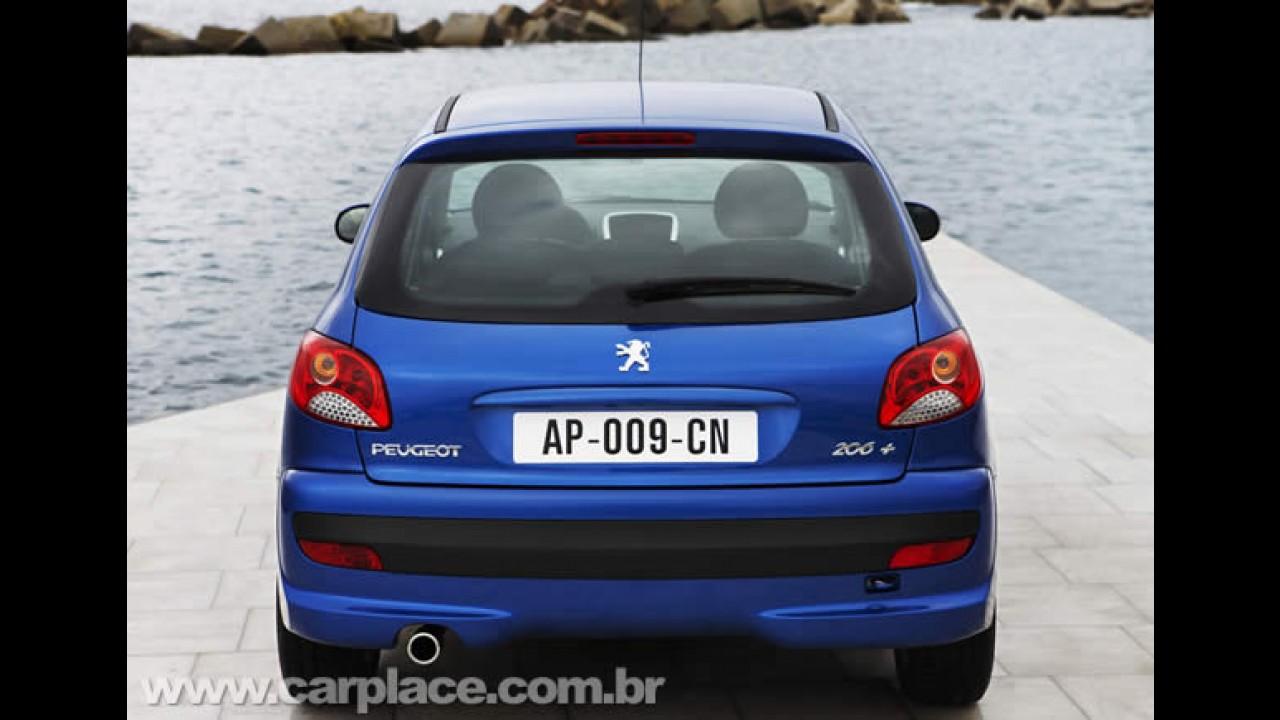 Peugeot 207 brasileiro consegue boas vendas na Europa como versão de entrada 206 Plus