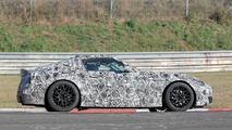 Toyota Supra Spy Photos at Nurburgring
