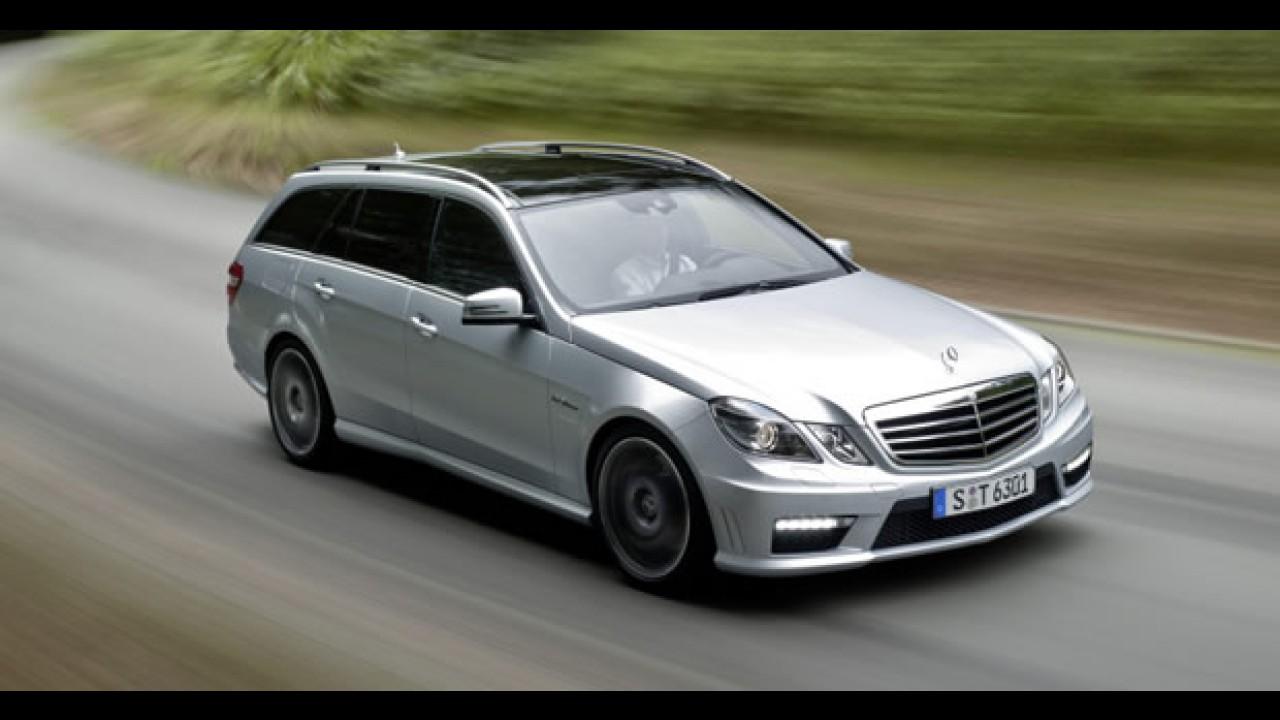 Mercedes-Benz apresenta o Classe E Estate 63 AMG 2010 - Veja fotos em alta resolução