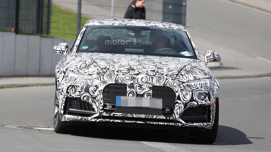 Audi RS5 Coupe spy photos