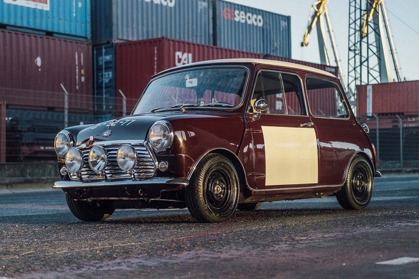 This Mini Cooper Cafe Racer Custom Will Steal Your Heart