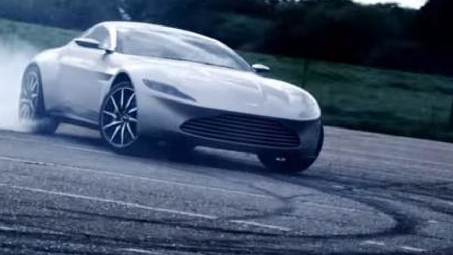 Aston Martin DB10 hits the track [video]